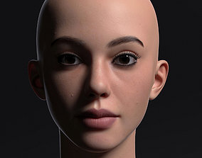 3D model Young Girl