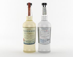Teremana Tequila 3D Model Ready For Render tequila