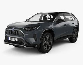 3D Toyota RAV4 PHEV 2020