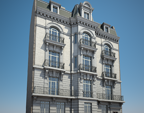 City Building 02 3D model