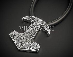Talisman Hammer Of Thor 3D printable model