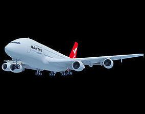 Qantas Airbus Model