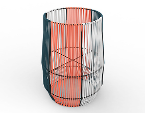 Ariba Woven Plant Stand Big 3D model