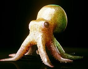 Octopus 3D model VR / AR ready