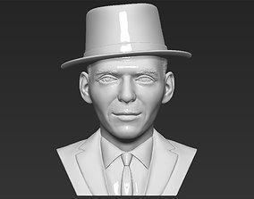Frank Sinatra bust 3D printing ready stl obj