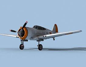 3D Curtiss H-75C Mohawk Dutch East Indies