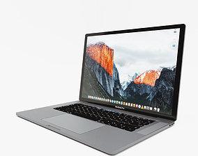 Apple Laptop 3D model
