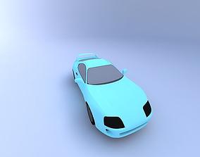 3D 1994 Toyota Supra with Interior