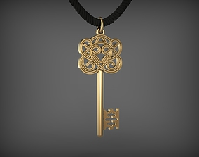 3D printable model Pendant Key 10 STL