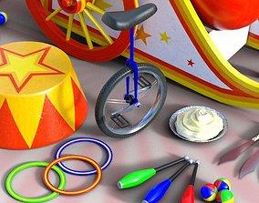3D model Circus Props