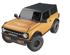 3D model Ford Bronco 2021