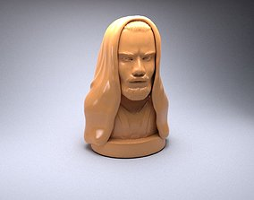 3D printable model Obi Wan Kenobi
