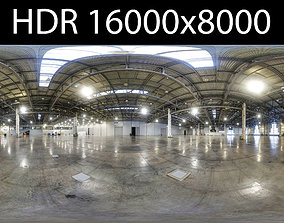 3D Exhibition hall HDR