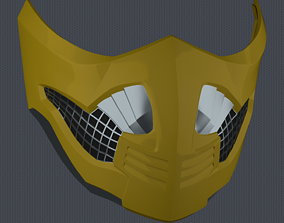3D printable model MK11 Scorpion Mask V5 - STL File