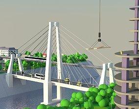 3D model village