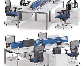 3D Office workspace LAS 5TH ELEMENT v2