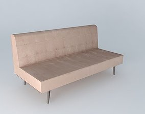 taupe sofa studio houses the world 3D