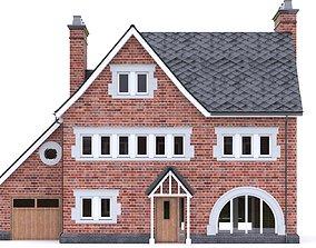 English Brick House 14 3D model