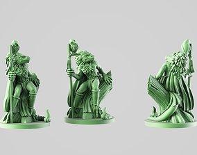 Mgic lizard 3D print model 28mm