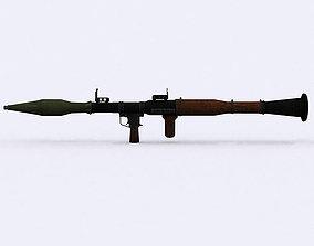 animated 3DRT - Modern Firearms Animated - RPG-7