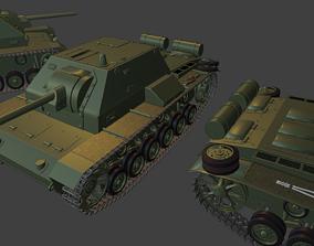 3D print model SU 76 I
