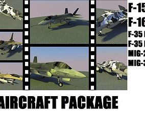 3D model AIRCRAFT PACKAGE