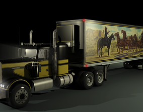3D model Smokey and the Bandit Snowman Truck