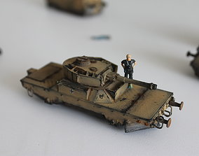 3D print model Panzerjagerwagen vol 2 scale H0 train