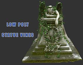 Statue Vines 018 - Low Poly 3D model