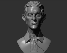 Dishonored Style Head 3D printable model