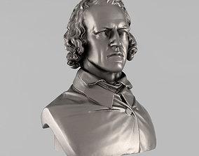 Printable bust of Tennyson