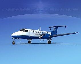 3D model Beechcraft B1900C V07