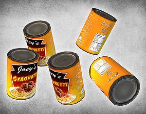 Canned Spaghetti 3D model