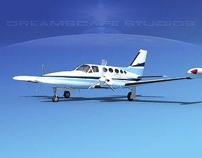 Cessna 414 Chancellor V13 3D