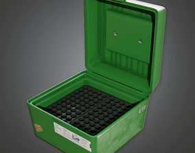 FGR - Ammo Plastic Case 01 - PBR Game Ready 3D asset