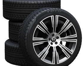 3D Volvo wheels