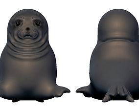 memes awkward seal - Full body 3D print model