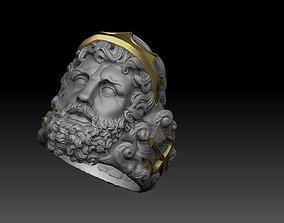 poseidon ring greek god 3D print model neptune