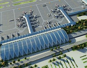 Airport Animated 05 3D model