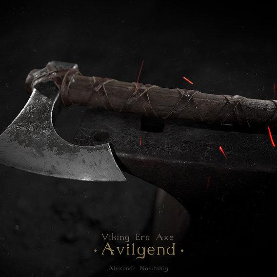 Viking Era Axe