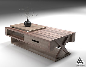 3D asset Coffee table 06- furniture