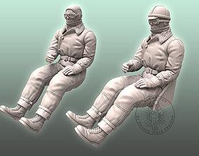 3D printable model WW I Pilot