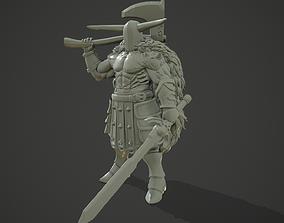 3D print model Demon Heavy Warrior