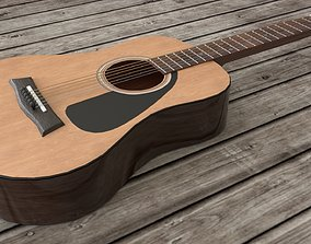 3D asset Classical Acoustic guitar Yamaha F310 6 strings