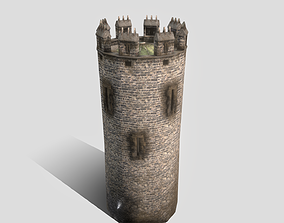3D asset Conwy Castle South Tower