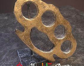 3D asset Game Ready Knuckles D180211