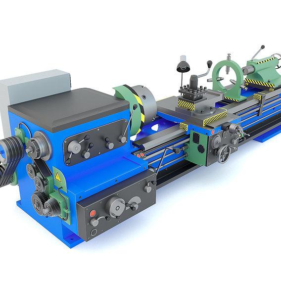 Industrial turning machine 1M63