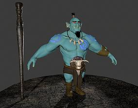 3D asset Ogre character