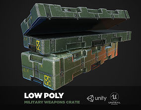 3D model Military Weapons Crate - Gun pelican case