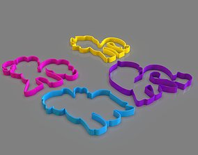 My Little Pony Cookie Cutter Pack 3D printable model